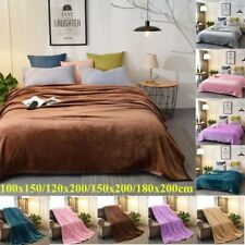 Large Luxury Blanket Throw Sofa Bed Couch Cover Home Soft Warm Fleece Bedspread