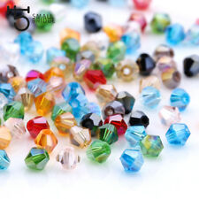 4 6Mm Austrian Bicone Crystal Beads For Jewelry Making Bracelets Diy Accessories