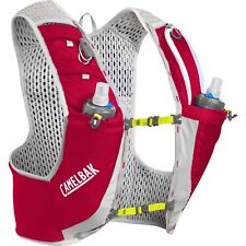 Backpack Camelbak Ultra Pro Vest 17oz Quick Stow Flask Crimson Red/lime Punch