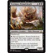 Tetzimoc, Primal Death - Rivals of Ixalan - Magic: the Gathering
