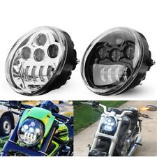 3450lm 60W DOT Motorcycle LED Front Headlight Hi/Lo Beam For Harley Davidson