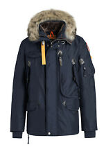 BRAND NEW MEN'S PARAJUMPERS RIGHT HAND PARKA JACKET COAT - NAVY