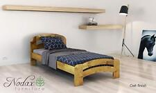 New solid wooden pine 3ft Single Size bed frame with slats-'F10' _COLOURS