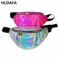 Women's Holographic Fanny Pack Laser Waist Packs Heuptas Hip Bag