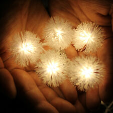 KCASA 2.2M 20 LED Dandelion Ball String Lights LED Fairy Lights for Festival