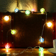 KCASA 2M 20 LED Metal Lantern String Lights LED Fairy Lights for Festival
