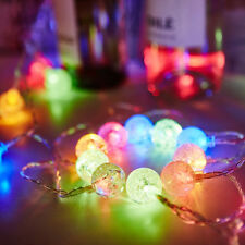 KCASA 2M 20 LED Bubble Ball String Lights LED Fairy Lights for Festival