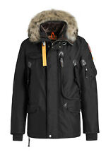 BRAND NEW MEN'S PARAJUMPERS RIGHT HAND PARKA JACKET COAT - BLACK