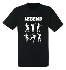 Kids Legend Celebrations T-Shirt boys girls Gaming Dance Dab Floss Xmas Tee Gift