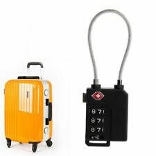 Resettable 3 Digit Combination Lock Travel Luggage Suitcase Code Padlock