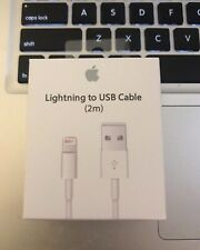 2M Genuine Apple Lightning USB charging cable Original for iPhone 5 6 7 8 X lot