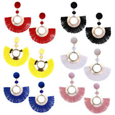 Bohemian Tassel Drop Boucles d'oreilles Fringe Main Fashion Boucles d'oreille
