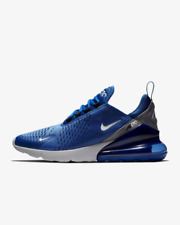 Nike Air Max 270 Blue White Grey Mens Sneakers Trainers Shoes 6 7 8 9 10 11 12
