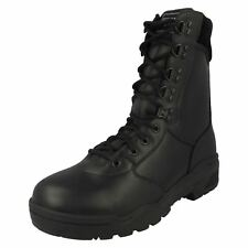Mens Magnum Lace-Up Combat Style Boots Leather Cen