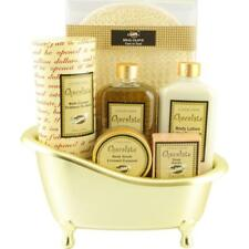 Bath Gift Set Box Wrapped Present for Her Body Beauty Kit Lotion Scrubs Salts