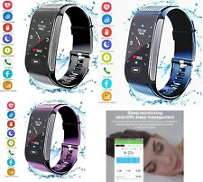 Fitness Tracker Activity Sports Watch with Pedometer Heart Rate Monitor 7 Sports