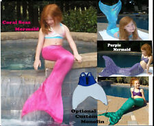 Mermaid tail for play or swimming without monofin. Tail only. No top.