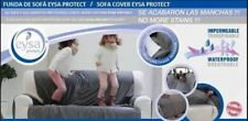 Funda de sofa impermeable y transpirable antimancha  Eysa Garona crudo chaslong