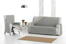 Funda de sofa reversible para sofa de1,2,3,4 plazas Eysa Mist sofa chais longue