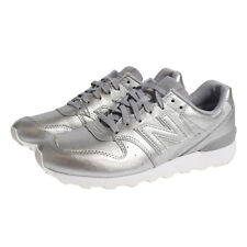 New Balance WR996 SRS Womens Sneakers Trainers Silver Leather Runners Grey  NEW 33c98d9a6529
