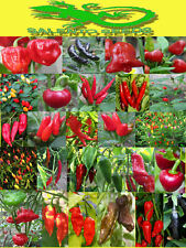 SEMI PEPERONCINO 25 VARIETA' A SCELTA SEEDS CHILI PEPPER  HOT VARIETY ITALIA