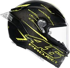 Casco integral Carbono Agv Pista Gp R Valentino Rossi Project 46 3.0 carbono