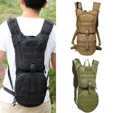 OUTDOOR HIKING TACTICAL BACKPACK HYDRATION PACK WITH 3L WATER BLADDER OPULENT