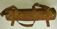 Real Tan Leather Chef Knives Bag  Chef Knives Roll Chef Knives Wallet 8 Pockets