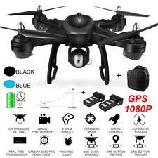 LH-X38G Dual GPS FPV With 1080P HD Camera Wifi RC Drone Quadcopter+Backpack New