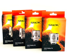 100% Authentic SMOK TFV8 X-BABY M2/Q2/X4/T6 COIL LOT US SELLER