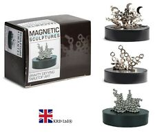 MAGIC MAGNETIC SCULPTURE Magnet Desktop Table Top Art Metal Shapes Toy Game Gift