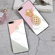 Luxury Cartoon Design Soft Silicone Case Cover For Huawei Honor 9 Lite 8 9i 7A