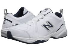 New Balance MX624WN2 White Navy Leather Men's Training Shoes New 100% Authentic