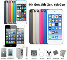 Apple iPod Touch 4th 5th 6th Gen 8GB, 16GB, 32GB, 64GB 128GB + lot ACCESSORIES