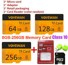 8GB-256GB Micro SD card TF Flash Memory Card Class 10 for MP3 phone Camera Lot