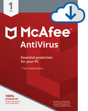 McAfee AntiVirus Plus 2019 -1 Years -1 Pc/3/5/10 Pcs Subscription Download