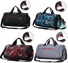 CoCoMall Sports Gym Bag with Shoes Compartment and Wet Pocket, Travel  Duffle Bag 15eee53e6c