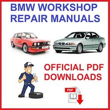 BMW Car workshop Repair Service Manual PDF Download