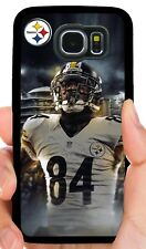 Antonio Marrón Steelers Funda para Teléfono Samsung Note 8 9 Galaxy S4 S5 S6 S7