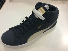 62156a8412d Mens Puma Archive Lite Mid Suede 356426 05 blue basketball casual ...
