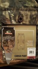 NEW Womens Cargo Pants MOSSY OAK Break-Up Country Camo ~ Size  M or L ~ Hunting