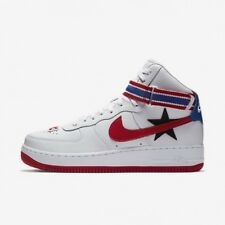 new style 0fe83 2de82 NIKE AIR FORCE 1 HI X RICCARDO TISCI RT - WHITE RED - AQ3366 100