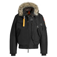 MEN'S PARAJUMPERS MASTERPIECE GOBI BOMBER JACKET COAT - BLACK