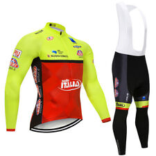 Completo Ciclismo invernale SELLE ITALIA WILIER set divisa bici lunga 9d
