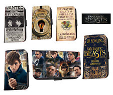 Fantastic Beast Newt leather phone case muggle book Inspired for Huawei Samsung