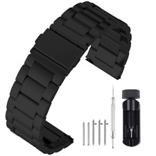 Fullmosa 22mm Watch Strap Stainless Steel for Samsung Gear S3 Classic/Frontier/G