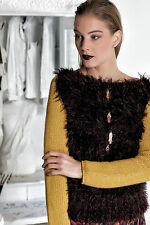 ELISA CAVALETTI Strickkragen//Knit Collar Gr S *Herbst//Winter 2016//2017*