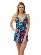 Oyster Bay 18112 Floral Skirted Swimsuit/Swimdress Sizes 10-24