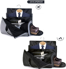 f55bdc3cac9 SUVOM Suit Travel Bag Suit Bag Carrier Luggage Change to Travel Duffel Bag  for M