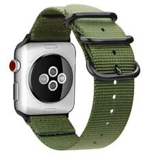 FINTIE Band for Apple Watch 44mm 42mm, Lightweight Breathable Woven Nylon Sport